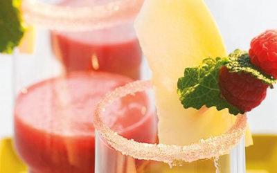 Rezept der Woche: Himbeer-Melonen-Smoothie