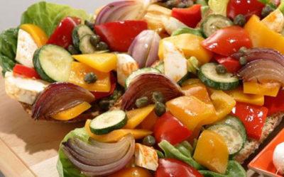 Rezept der Woche: Ciabatta mit Grillgemüse