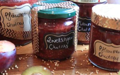 Rezept der Woche: Würziges Pflaumen-Chutney