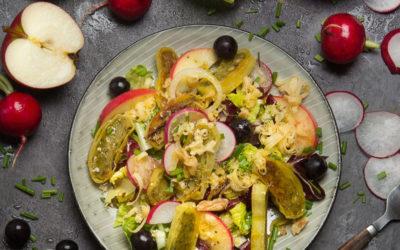 Rezept der Woche: Herbstlicher Maultaschen-Salat