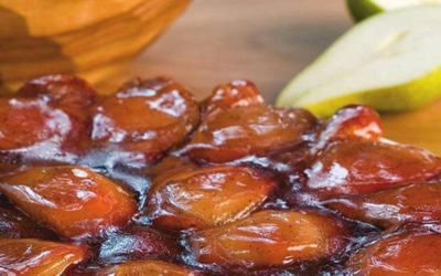 Rezept der Woche: Tarte Tatin mit Birnen und Quittengelee