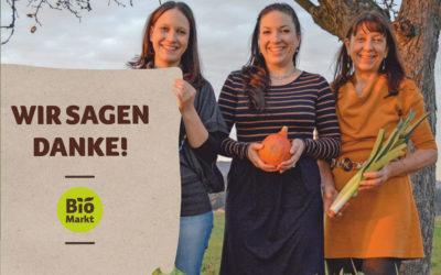 5 Jahre Biomarkt Eckental – 5% Jubel-Rabatt! +++ 19. bis 21. November +++