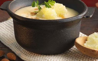 Rezept der Woche: Schwarzwurzelsuppe mit Mandelmus und Limette
