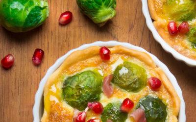 Rezept der Woche: Rosenkohl-Käse-Tartelettes mit Datteln