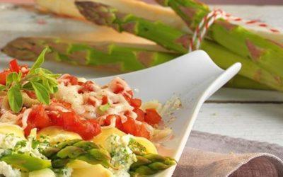 Rezept der Woche: Spargel-Canneloni mit Kräuter-Ricottafüllung